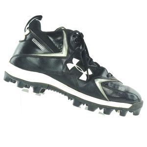 Under Armour Football Cleats Mens 9 Black